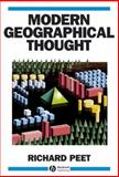 Modern Geographical Thought 9781557863782