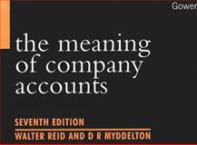 The Meaning of Company Accounts 9780566083785