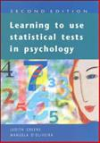 Learning to Use Statistical Tools in Psychology 9780335203789