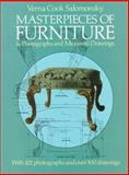 Masterpieces of Furniture in Photographs and Measured Drawings 9780486213811