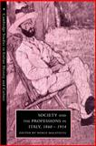 Society and the Professions in Italy, 1860-1914 9780521893831