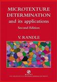 Microtexture Determination and its Applications 9781902653839
