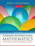 Elementary and Middle School Mathematics 6th Edition