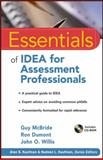 Essentials of Idea for Assessment Professionals 1st Edition