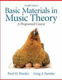 Basic Materials in Music Theory 12th Edition