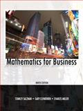 Mathematics for Business 9th Edition