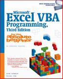 Microsoft® Excel® VBA Programming for the Absolute Beginner 3rd Edition