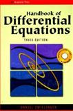 Handbook of Differential Equations 9780127843957