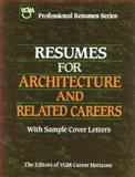 Resumes for Architecture and Related Careers 9780844243986