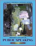 Principles and Types of Public Speaking 9780205344024