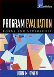 Program Evaluation 9781593854065