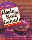 Maple for Basic Calculus 9780827374089