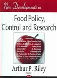 New Developments in Food Policy, Control and Research 9781594544095