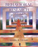 Introduction to Behavioral Research Methods 9780205544141