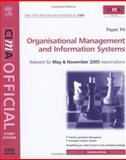 Organisational Management and Information Systems 9780750664141