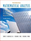 Introductory Mathematical Analysis for Business, Economics and the Life and Social Sciences 12th Edition