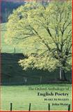 The Oxford Anthology of English Poetry 1st Edition