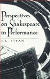 Perspectives on Shakespeare in Performance 9780820444260