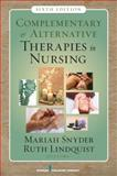 Complementary and Alternative Therapies in Nursing 9780826124289