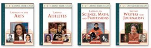 A to Z of Latino Americans Set, 4-Volumes 9780816074310