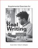 Supplemental Exercises for Real Writing with Readings 6th Edition