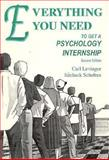 Everything You Need to Get a Psychology Internship 9780964804319