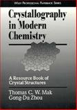 Crystallography in Modern Chemistry 9780471184386