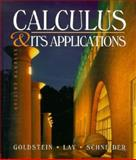 Calculus and Its Applications 9780133214499