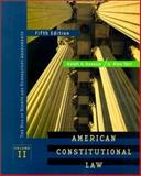 American Constitutional Law 9780312184506