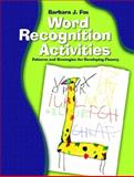 Word Recognition Activities 9780130304513
