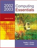 Computing Essentials 2002-03 Complete Edition with Interactive Companion 3.0 9780072824520
