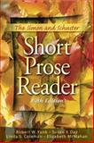 The Simon and Schuster Short Prose Reader 5th Edition