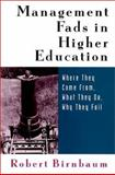 Management Fads in Higher Education 9780787944568