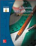 Achieving TABE Success in Mathematics, TABE 9 and 10 Level E 1st Edition