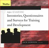 Pfeiffer's Classic Inventories, Questionnaires, and Surveys for Training and Development 9780787974695