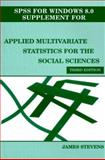 Applied Multivariate Statistics for the Social Sciences 9780805834727