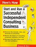 Run a Successful Independent Consulting Business 9780844224824