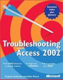 Troubleshooting Microsoft Access 2002 9780735614888