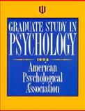 Graduate Study in Psychology KSO, 1998 9781557984890