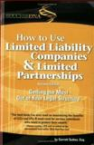 How to Use Limited Liability Companies and Limited Partnerships 9780971354906