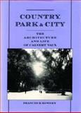 Country, Park and City 9780195114959