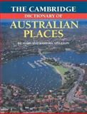 The Cambridge Dictionary of Australian Places 9780521484961