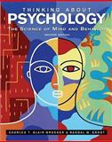 Thinking about Psychology 2nd Edition