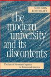 The Modern University and Its Discontents 9780521025010