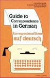 Guide to Correspondence in German 9780844225029