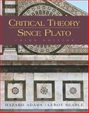 Critical Theory since Plato 3rd Edition