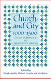 Church and City, 1000-1500 9780521525060