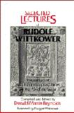 Selected Lectures of Rudolf Wittkower 9780521305082