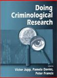 Doing Criminological Research 9780761965084
