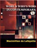 World Who's Who in Contemporary Art 9780979975097